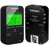 YONGNUO YN622C-KIT Wireless E-TTL Flash Trigger Kit for Canon including 1X YN622C-TX Controller and 1X YN622 C Transceiver